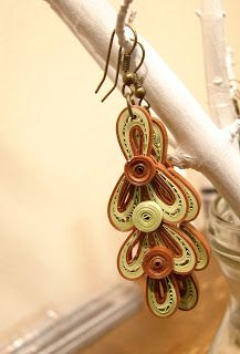 All About Quilling: Quilled Earrings