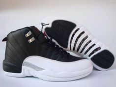 Nike Air Jordan 12 - Black White - One of the few Jordans I bought that I DID wear a lot. Still heavy, but one of the coolest looking shoes ever made. Loved the asymmetrical design.