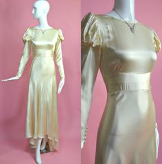 1930's Vintage Old Hollywood Glamour Champagne by RubyFayesVintage