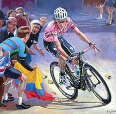 RIGOBERTO URÁN ART GIRO-D'ITALIA Bicycle Art, Vehicles, Italy, Bike Art, Rolling Stock, Vehicle, Cycling Art
