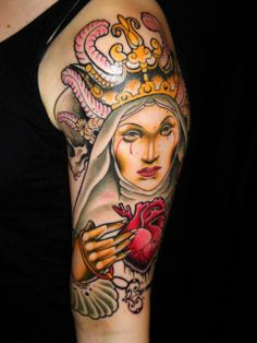 Seriously Ruined: Featured Tattoo Artist   Adriaan Machete..awesome! #Tattoos #Girls