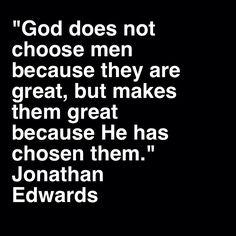 Jonathan Edwards on election