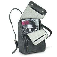 Notebook Rucksack, Laptop Rucksack, Bags, City, Fashion, Coin Purses, Notebook Bag, Elegant Styles, Leather Bag