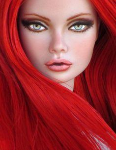 ooak poppie parker | OOAK Poppy Parker Fashion Royalty Miss Fairchild Doll Repaint and ...