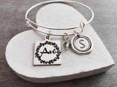 avó avo portuguese grandmother Grandma Silver Bracelet