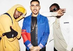 """The UK's favourite trio, WSTRN, have returned in full force with their brand new single """"Re Up"""". After several years of being a duo, with Haile and Louis Rei holding down the fort, Akelle has returned home from prison just in time to Tinashe, Disney Marvel, Dance Hall, West London, House Music, New Music, Superman, Music Videos, Windbreaker"""