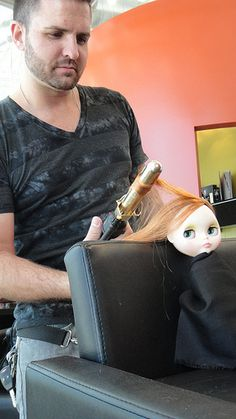 Salon Pictures, Doll Hair, Dolls, Hair Styles, Character, Baby Dolls, Hair Plait Styles, Puppet, Hair Makeup