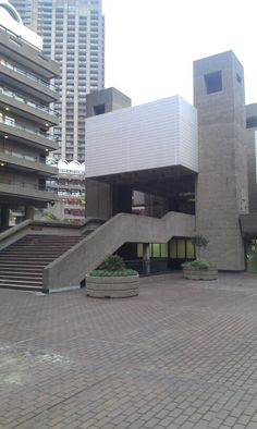 BARBICAN ESTATE | CITY OF LONDON | LONDON | ENGLAND: *Built: 1965-1976; Officially Opened: 1969; Architects: Chamberlin, Powell and Bon; Grade II Listed*