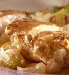 Apple Cider Chicken. Leave out the flour and thicken with pumpkin or coconut milk!  Mmmmm!