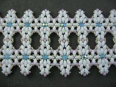 Tutorial Superduo Wave Bracelet. Pattern to by ButterflyBeadKits