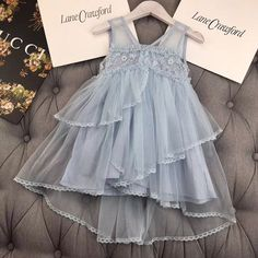 Baby doll dress in baby size 😂 Kids Frocks, Frocks For Girls, Dresses Kids Girl, Kids Outfits, Flower Girl Dresses, Baby Dresses, Wedding Dresses, Little Girl Fashion, Toddler Fashion
