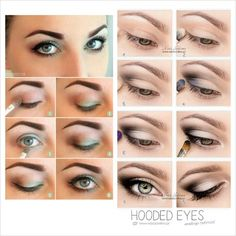 Eyes, For Makeup Make Beautylish, Hooded Hair natural Up, hooded  eyes makeup Nails, Makeup  Makeup