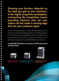 HP LaserJet Product - Intro [Copywriting]