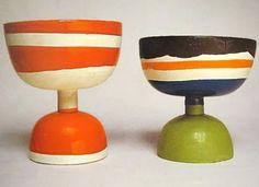 #decoratecolorfully ettore sottsass ceramics