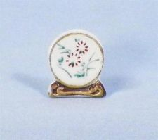 Ideal Petite Princess Plate Dollhouse Miniature Porcelain Buffet Dining Room