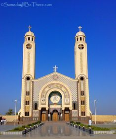 St. Mina Monastery, Egypt Church Architecture, Amazing Architecture, Home Temple, Lets Run Away, Alexandria Egypt, Visit Egypt, Cathedral Church, Church Building, Place Of Worship