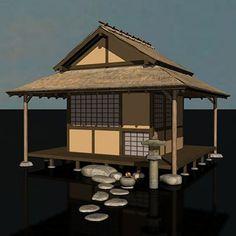 Japanese Tea House Gazebo Wood Gazebo Kits Custom
