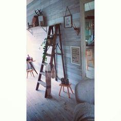 Home ladder decoratie