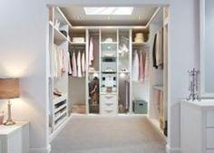 Idea for dressing rm/ walk in wardrobe