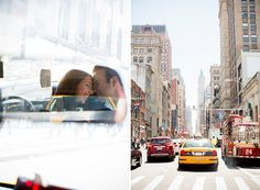 Urban Spring Engagement Session in New York City | Images by Captured Photography by Jenny | Via Modernly Wed | 09