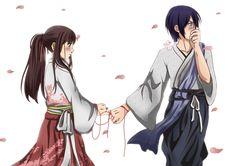 Yatori for evah Yato And Hiyori, Noragami Anime, Manga Anime, Anime Art, Yatori, Manhwa, Chibi, Durarara, Asuna
