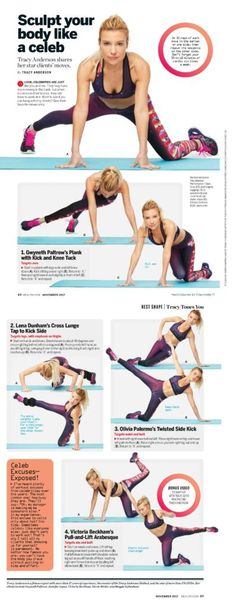 bfb39c79b2 All over body moves Tracy Anderson Diet
