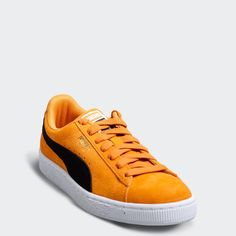 f8b8e27c0 PUMA Suede Classic Shoes Orange Pop