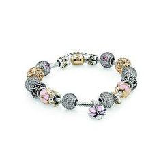 Pandora Love You Mom Inspirational Bracelet New Pandora Charms, Pandora Bracelet Charms, Pandora Jewelry, Charm Jewelry, Jewelry Art, Jewelry Design, Fashion Jewelry, Jewellery, Cheap Pandora