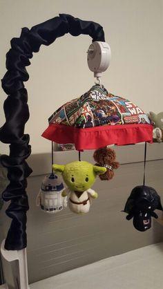 Repurposed A Baby Mobile Into Diy Nerdy Star Wars Fancyfett