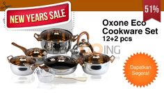 New Year Sale #oxone eco cookware 51%