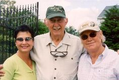 Nancy Jones, Jack Greene, George Jones [Courtesy LeeAnn Lallone]