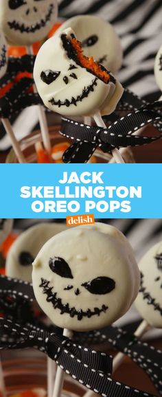 Best Jack Skellington Oreo Pops Recipe - How to Make Jack Skellington Oreo Pops