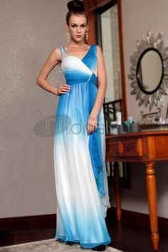 Shop Beauty Tencel Changeable Chiffon Sleeveless Floor Length Prom Evening Dress on sale at Tidestore with trendy design and good price. Come and find more fashion Best Selling Evening Dresses here. Prom Dress 2014, V Neck Prom Dresses, Chiffon Evening Dresses, Formal Evening Dresses, Chiffon Dress, Dresses 2014, White Chiffon, Formal Prom, Party Dresses