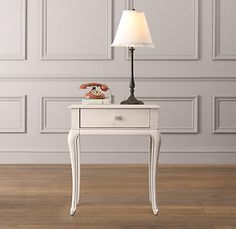 Might could re do night stand like this with cherry top   Adele Nightstand $299