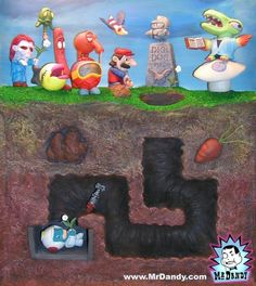 Dig Dug's Funeral by James Hakola