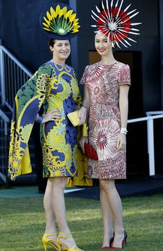 fashion millinery winners for 2014 melbourne cup - Google Search