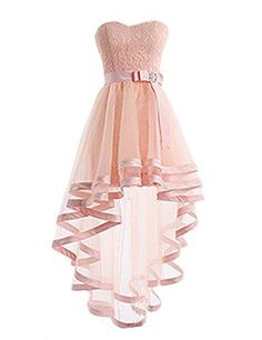 Evening Dresses 2017 New Design A-line White And Black V-Neck Sleeveless Backless Tea-length Sashes Party Eveing Dress Prom Dresses 2017 High Quality Dress Fuchsi China Dress Up Plain Dres Cheap Dresses Georgette Online High Low Prom Dresses, Cute Prom Dresses, Sweet 16 Dresses, Tulle Prom Dress, Dresses For Teens, Trendy Dresses, Dance Dresses, Lace Dress, Wedding Dresses