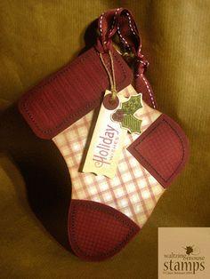 Waltzingmouse Makes...: ...plaid stocking anyone?