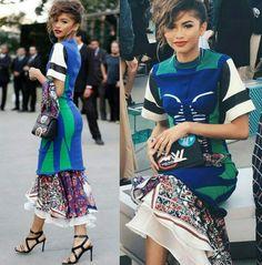 Os desfiles da grife LV estão bombando! Zendaya de Louis Vuitton! ⭐ #louisvuitton #niteroi