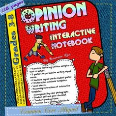 Teach your students the art of persuasion with this 116 page interactive unit. The key to writing a good opinion piece is to adhere to structure, maintain cohesion and develop style. The activities in this unit provide ample scaffolding to enable students to organize content-specific information and write persuasively on a given topic.