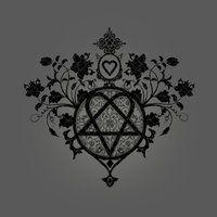 Floral Heartagram by ~aamafreak on deviantART
