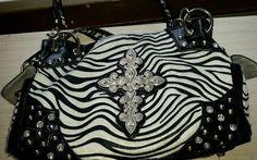 For sale! Zebra bag zebra purse zebra print winter bag winter purse