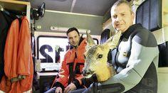Rehe und Schlangen: Feuerwehr rettet nicht nur Menschenleben