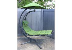 The Zero Gravity Hammock Chair @ Sharper Image