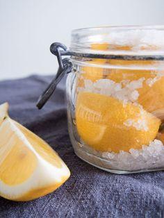 Säilötyt sitruunat tuovat kesän mieleen