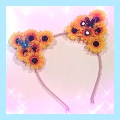 #LUVIT  An extra LUVly custom Sunflower #CatEarHeadband is going out to the beautiful #FlowerChild  View our #KittyEars at www.KittyKatrina.com in our Cat Ear Headbands Section  #catears #flowercrowns #flowercrown #flowerheadband #ravecostume #ravewear #raveoutfit #rave #festival #festivalfashion #edmfashion #electricdaisycarnival #edc #edclv #edclasvegas #electricforest #lollapalooza #LIB #mysteryland #nocturnalwonderland