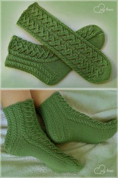Baby Knitting Patterns, Knitted Socks Free Pattern, Crochet Slipper Pattern, Knitting Socks, Crochet Boots, Crochet Clothes, Knit Crochet, Knitted Coat, Knitted Slippers