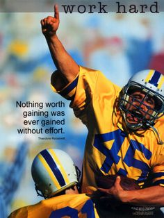 A TR quote on a football image. Doesn't get much better than that.