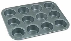 Alegacy 143 Professional Aluminized Steel 12-Cup Muffin and Cupcake Pan >>> Insider's special review you can't miss. Read more  : Muffin and Cupcake Pans