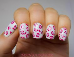 Manicurator: Abstract Nail Art Challenge - New tutorial (leopard manicure)